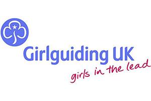 Girlguiding UK (logo) - girls in the lead